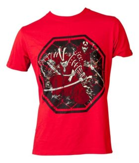 """T-Shirt """"Samurai"""" Rood"""