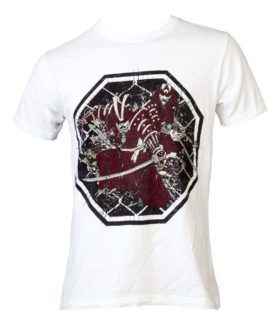 "T-Shirt ""Samurai"" Wit"