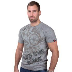 "TOP TEN MMA T-Shirt ""Shield"" Grijs"