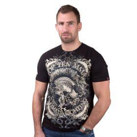 """T-Shirt """"Spartan"""" Zwart"""