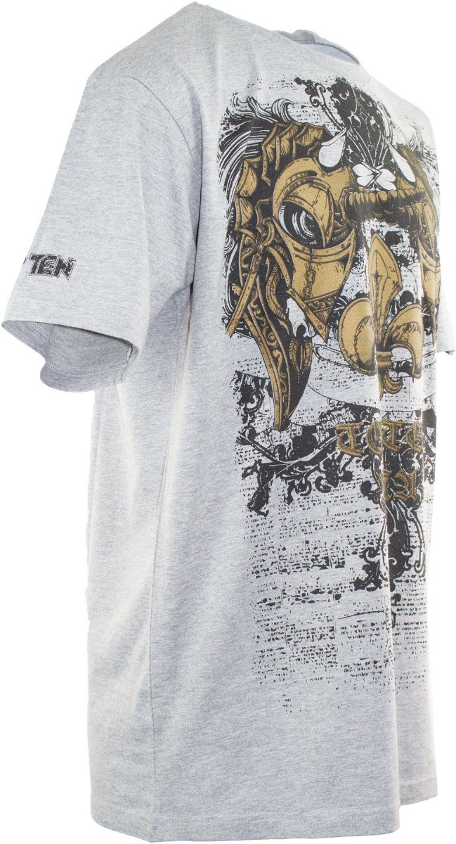 "TOP TEN MMA T-Shirt ""Unicorn"" Grijs"