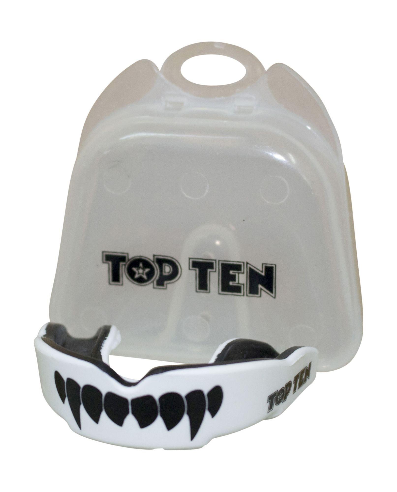 """TOP TEN Mondbeschermer """"Combat TPR"""" Zwart - Wit"""