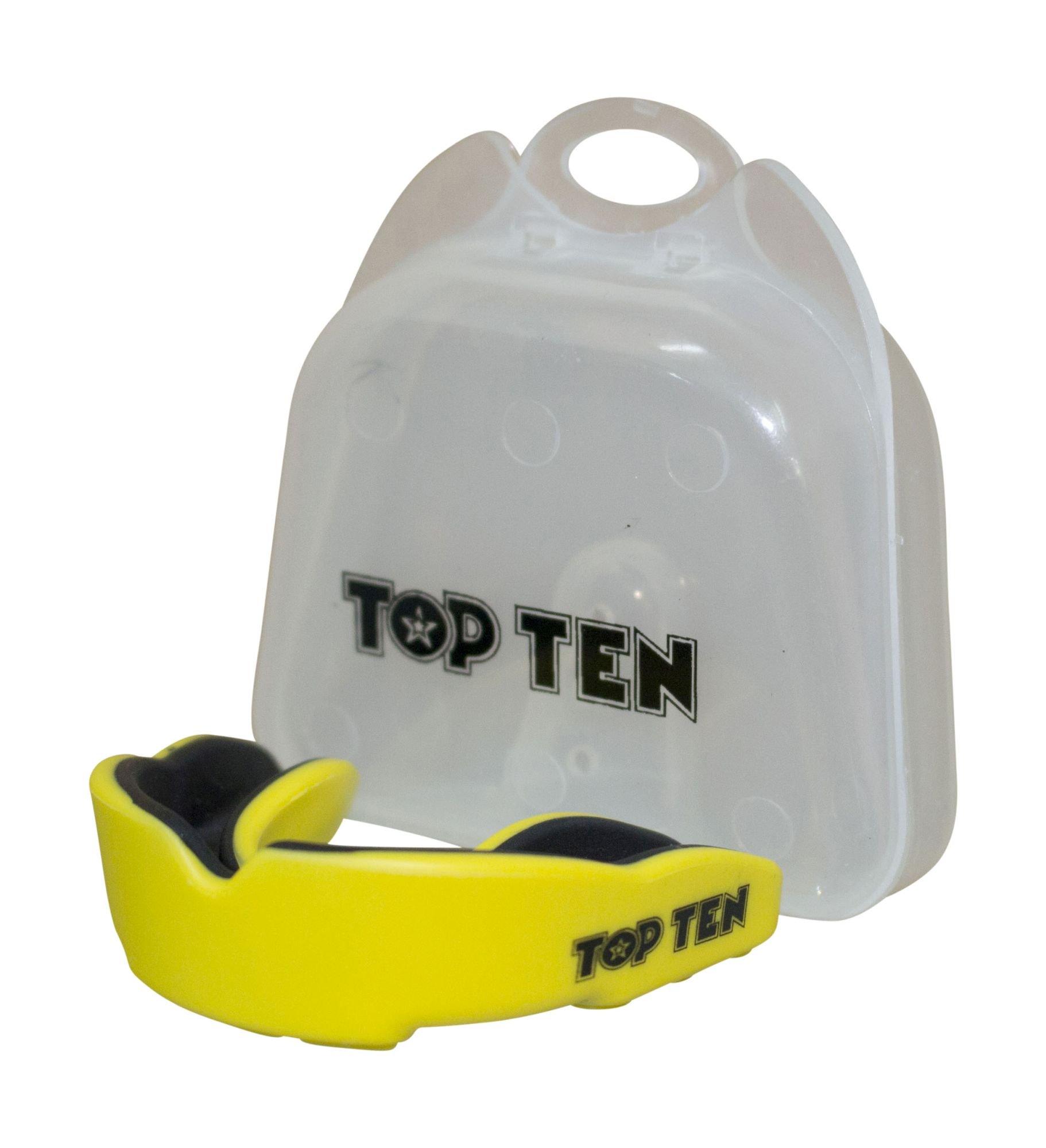 """TOP TEN Mondbeschermer """"Combat TPR"""" Wit - Zwart"""