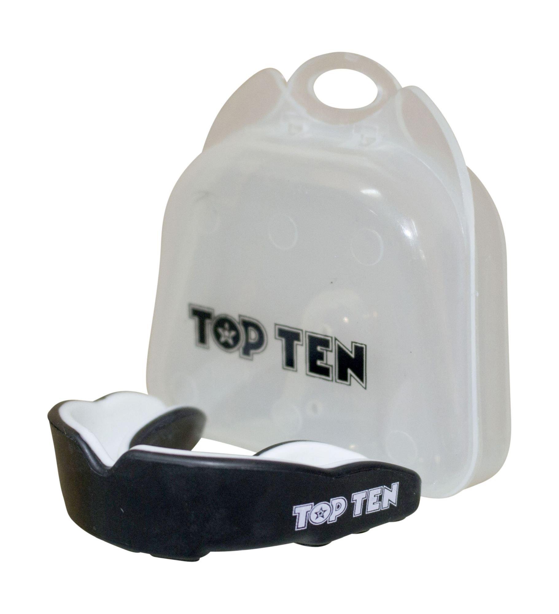 "TOP TEN Mondbeschermer ""Combat TPR"" Geel - Zwart"