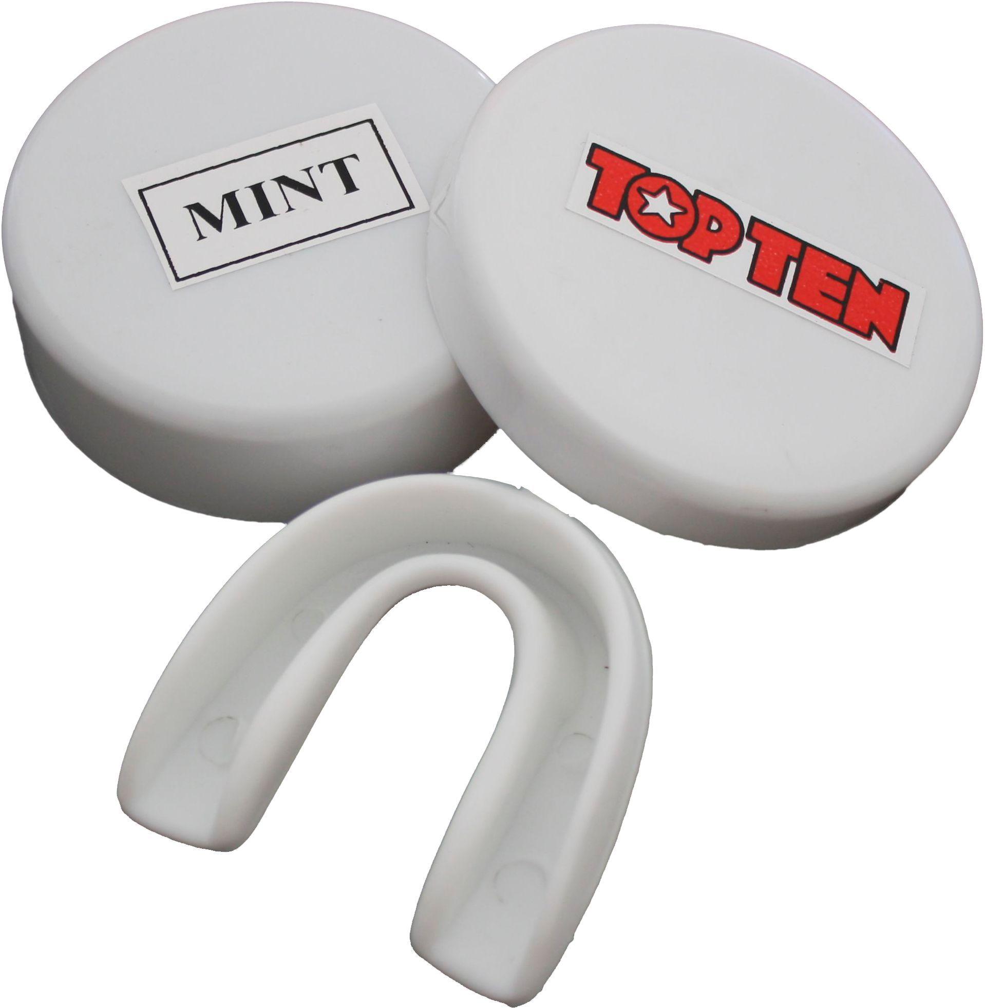 """TOP TEN Mondbeschermer """"Peppermint"""" Transparant"""
