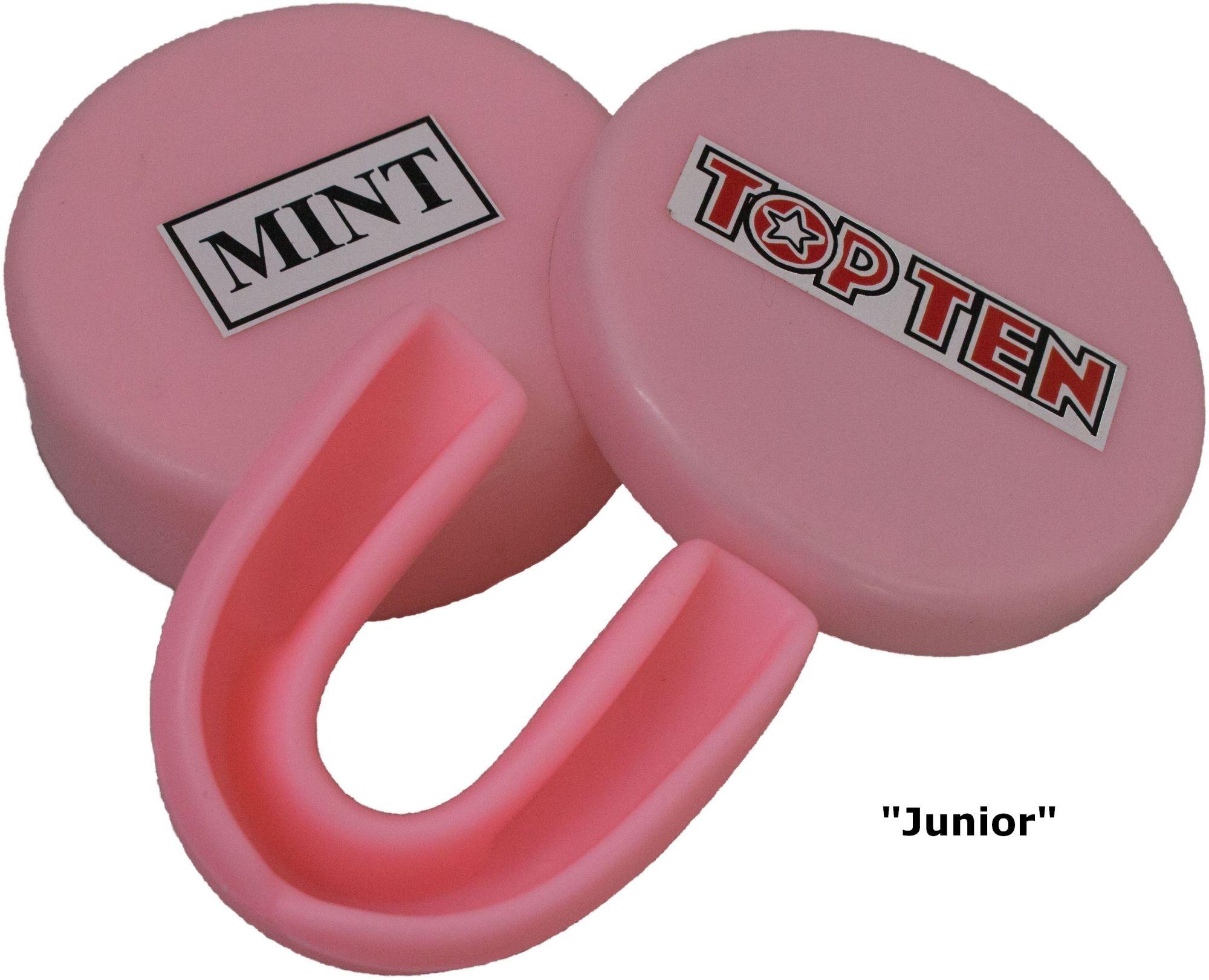 """TOP TEN Mondbeschermer """"Peppermint"""" Wit"""