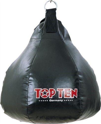 TOP TEN Bokspeer Nylon Zwart