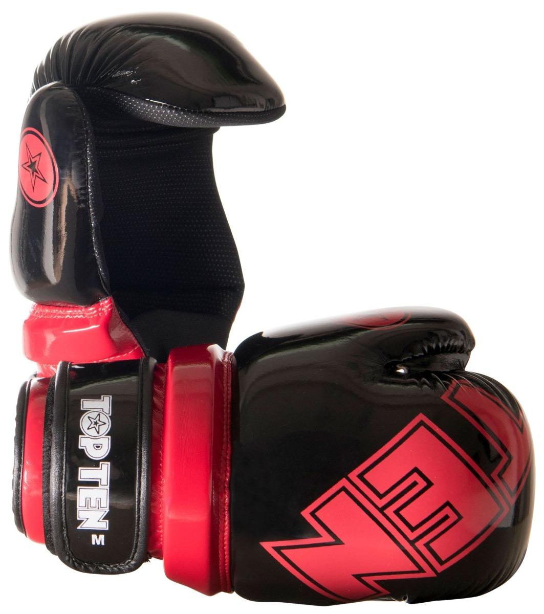 "Pointfighter ""Glossy Block"" Zwart - rood"