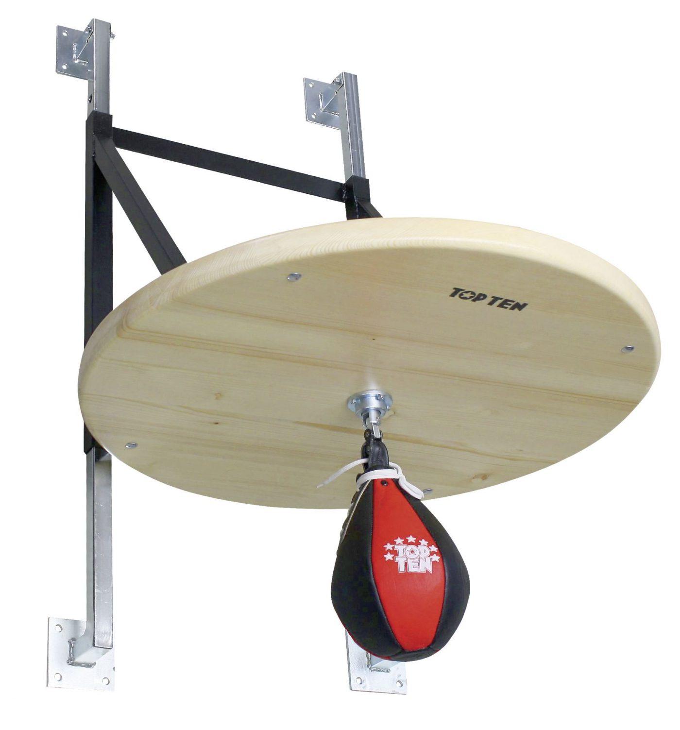 TOP TEN Profi Speedball platform set incl. Speedball Zwart - rood