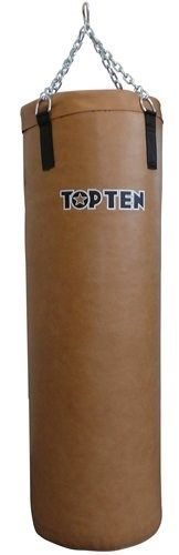 "TOP TEN Bokszak  Heavy Bag ""TOP TEN"" (gevuld) VintageBruin"