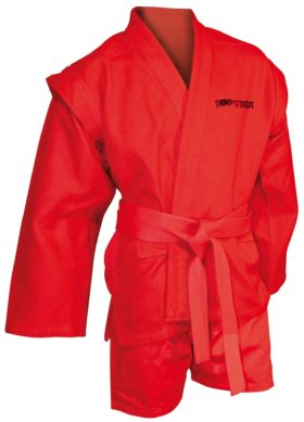 Sambo Kurtka  Sambo uniform Rood