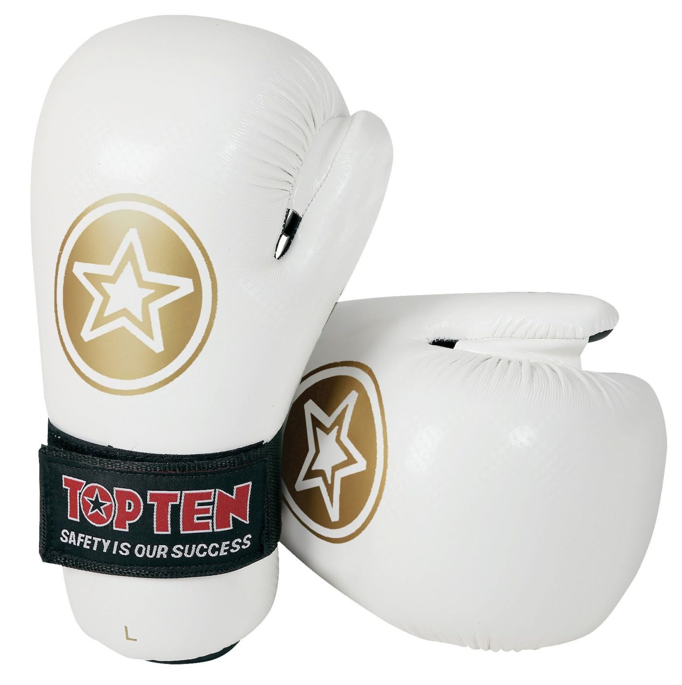 """TOP TEN Pointfighter """"Star Collection"""" Wit - goud"""