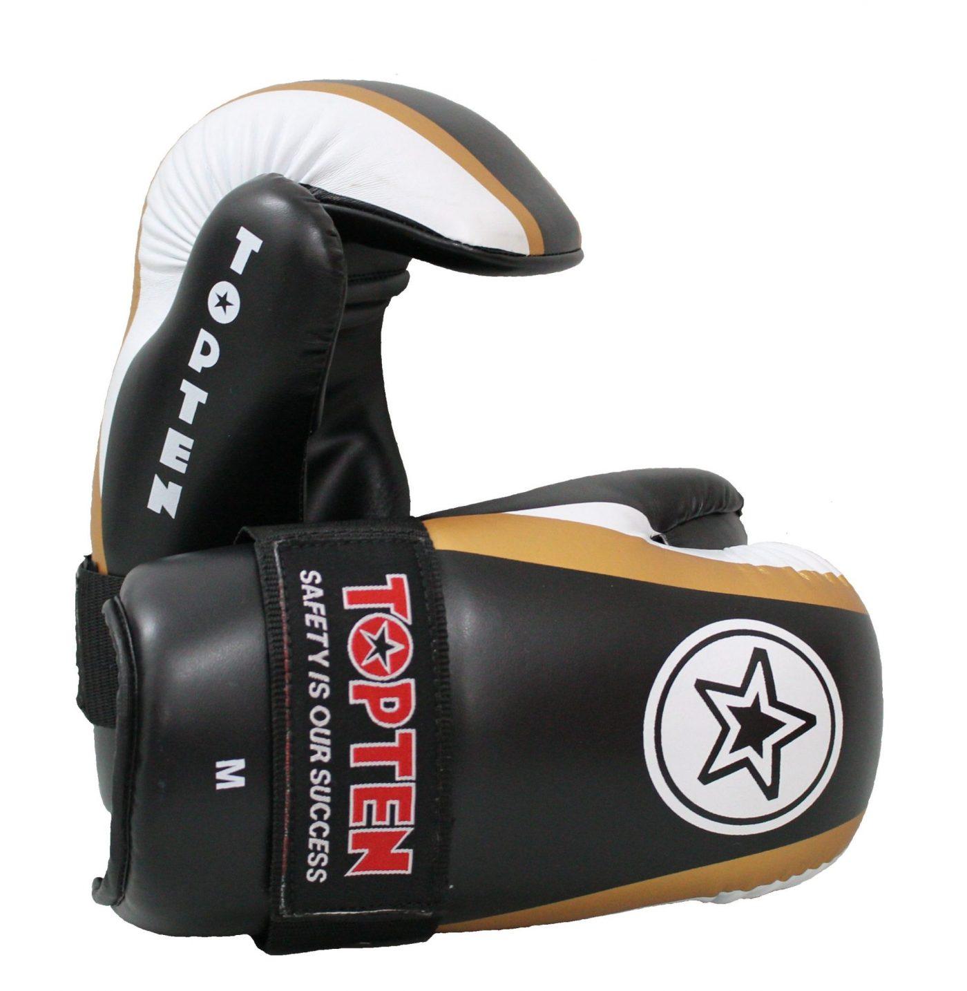 """Pointfighter """"Star & Stripes"""" Zwart - goud"""