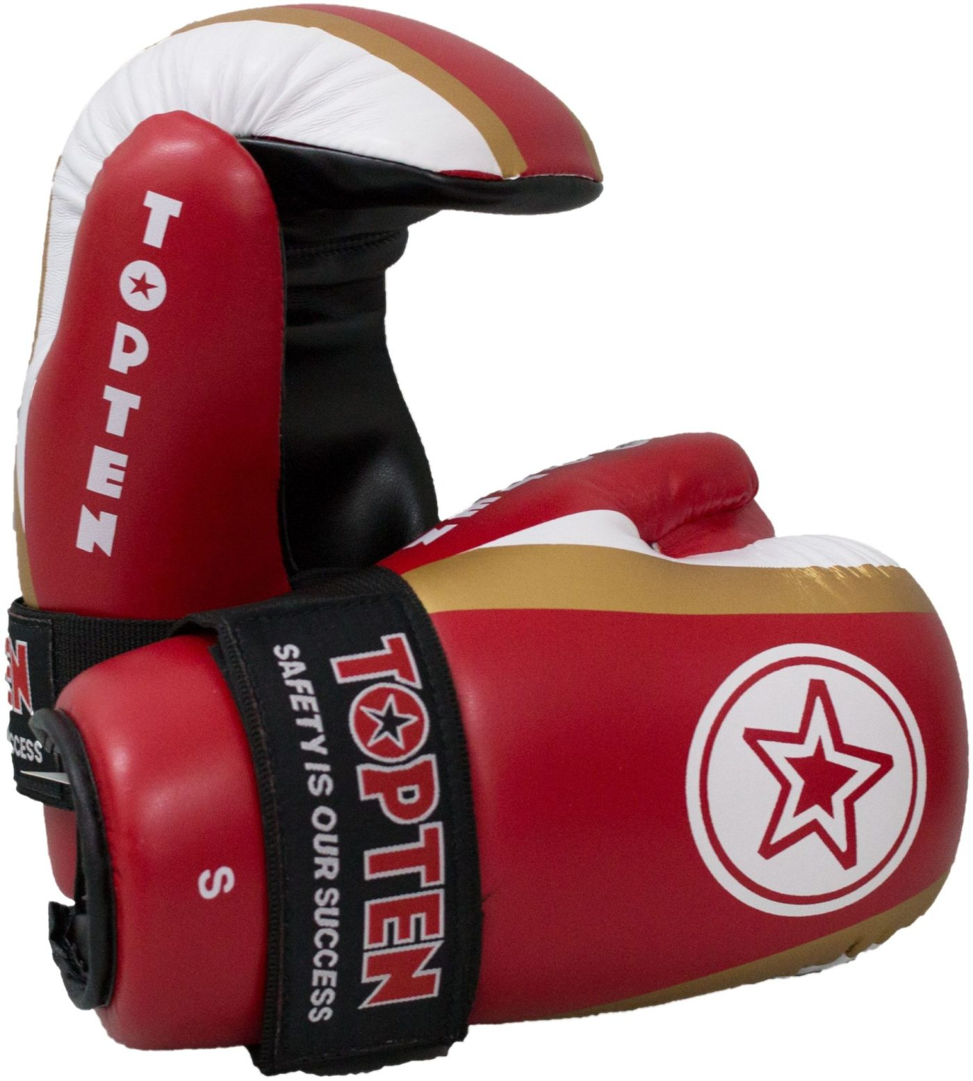 "TOP TEN Pointfighter ""Star & Stripes"" Rood - goud"