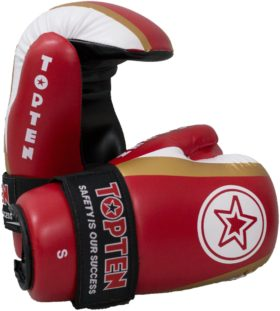 "Pointfighter ""Star & Stripes"" Rood - goud"