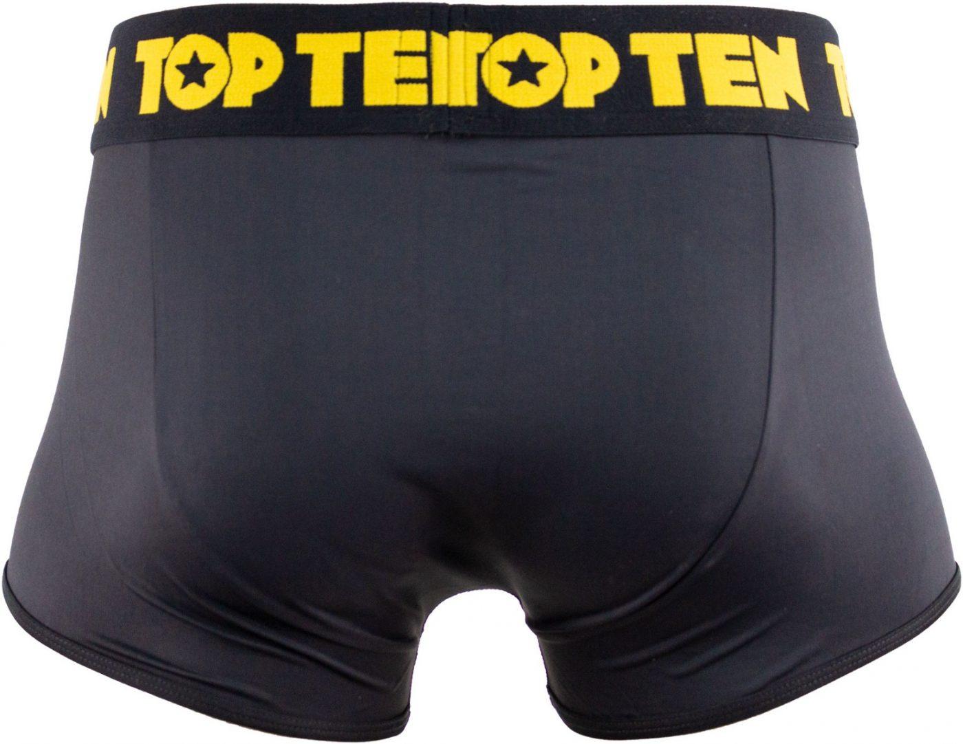 TOP TEN Boxershorts Zwart - goud