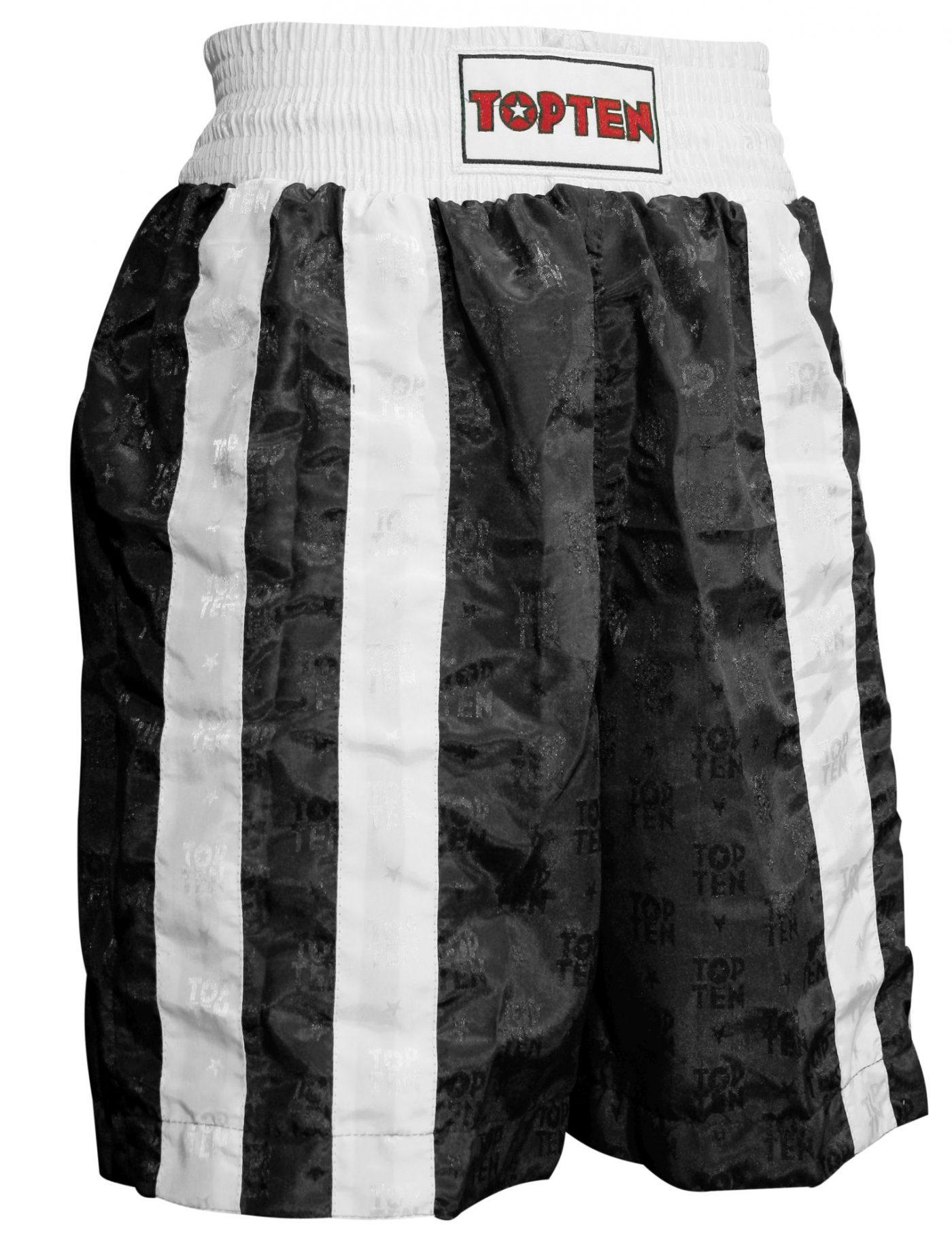 """Boksbroekje """"Two Stripes"""" Zwart - Wit"""
