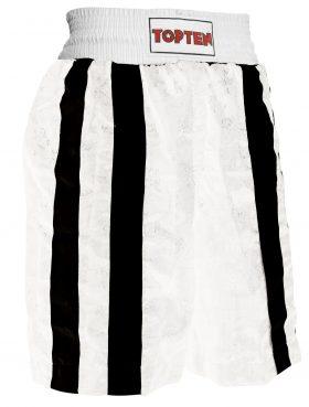 """Boksbroekje """"Two Stripes"""" Wit - Zwart"""