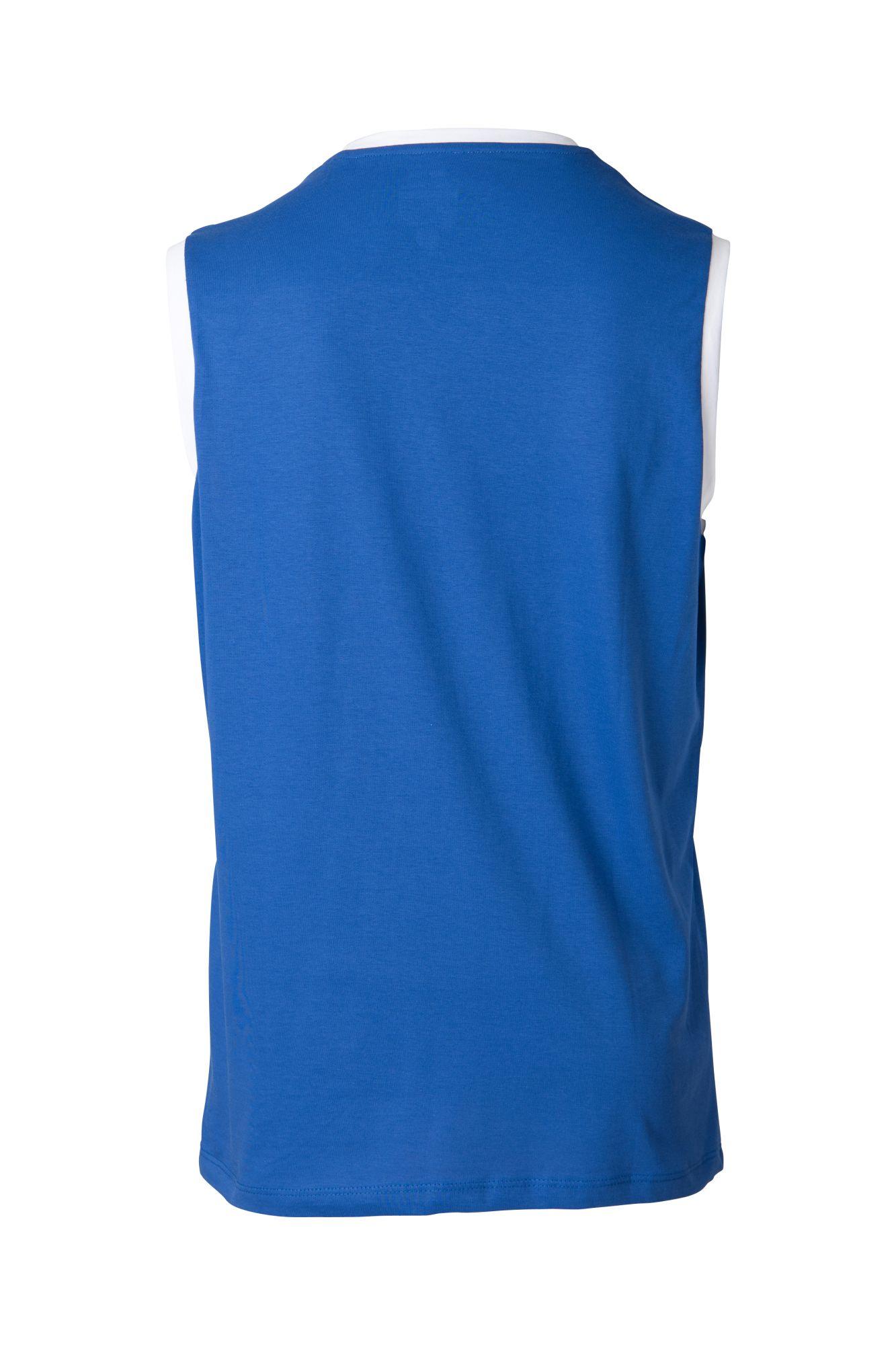 """TOP TEN Mouwloos T-Shirt """"WAKO"""" voor wedstrijden Blauw"""