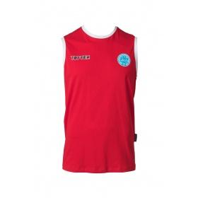 """TOP TEN Mouwloos T-Shirt """"WAKO"""" voor wedstrijden Rood"""