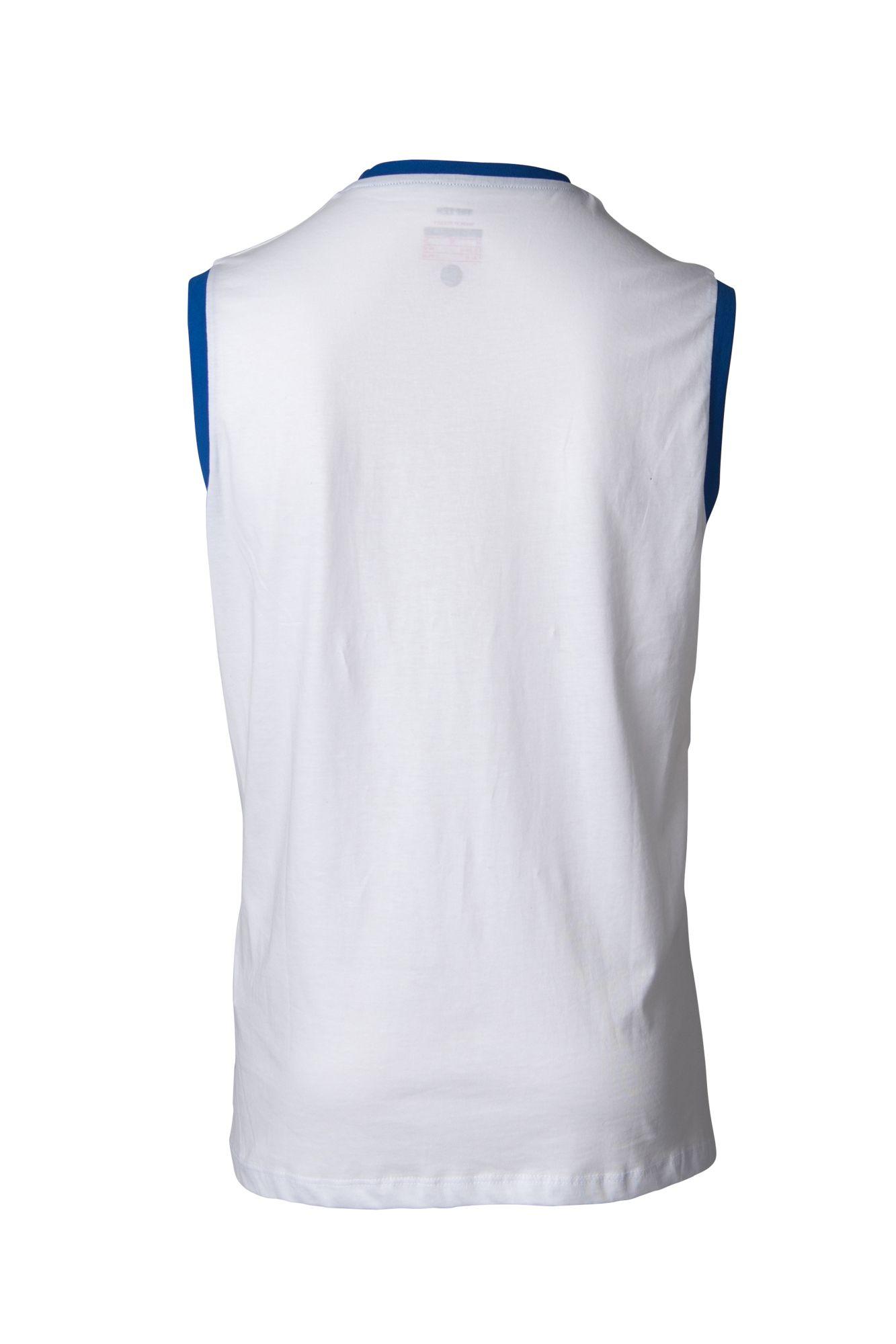 """TOP TEN Mouwloos T-Shirt """"WAKO"""" voor wedstrijden Wit"""