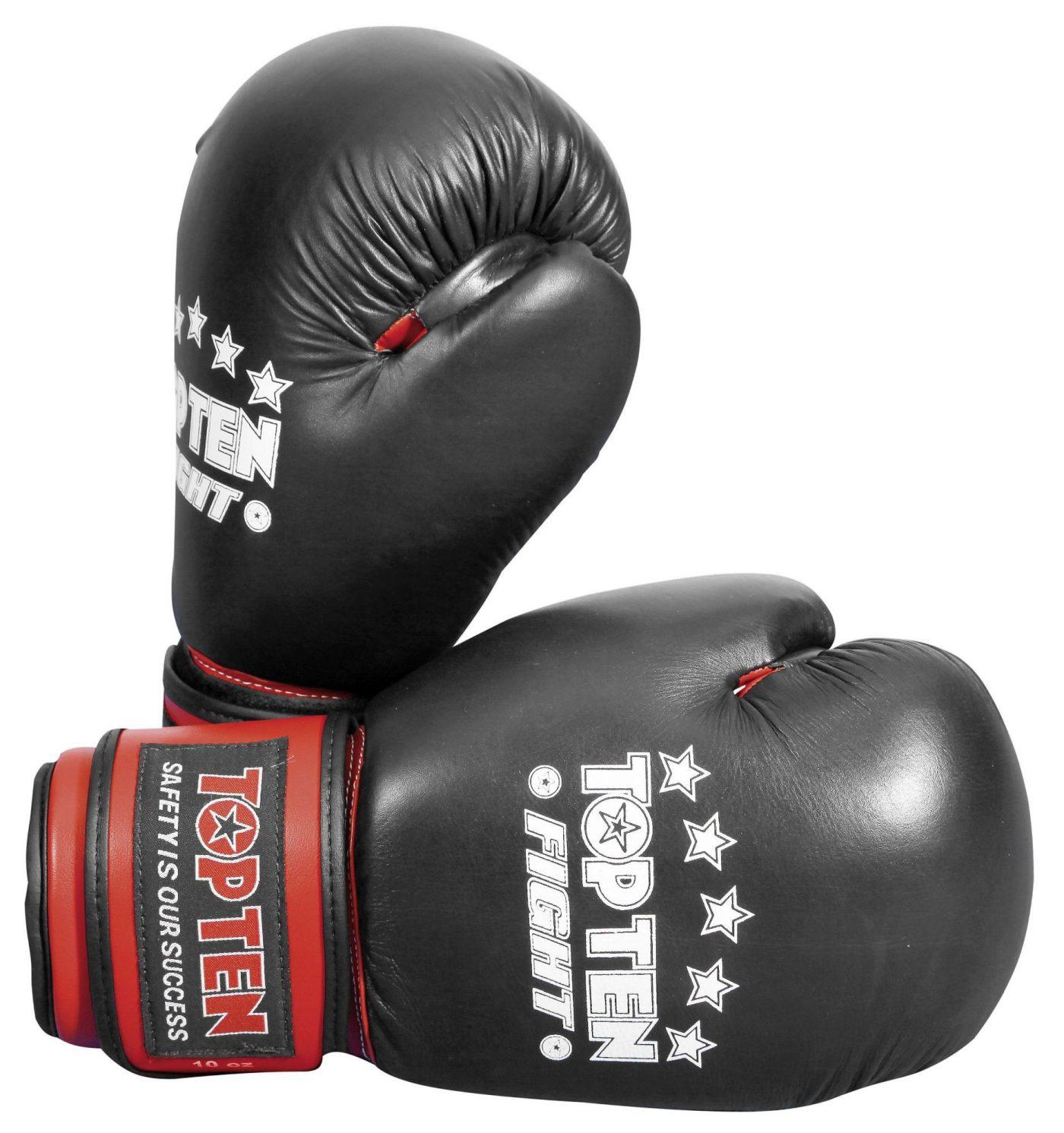 "Sparringshandschoenen ""FIGHT"" Zwart"