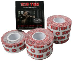 TOP TEN Sporttape Wit