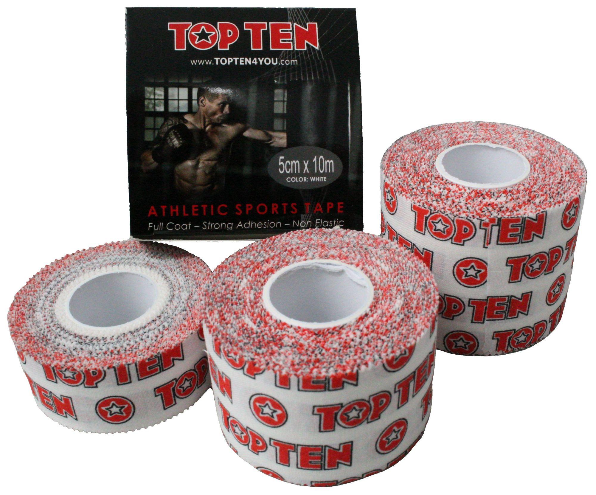 TOP TEN Sporttape Wit