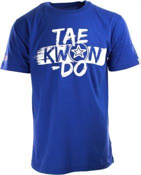 """TOP TEN T-Shirt """"ITF Taekwondo"""" Blauw"""