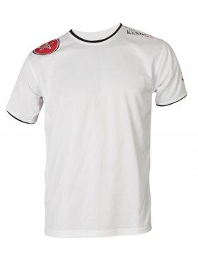 """T-Shirt """"KickboXing"""" met print op schouder Wit"""