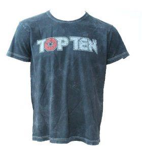 """TOP TEN T-Shirt """"Retrolook"""" Grijs"""