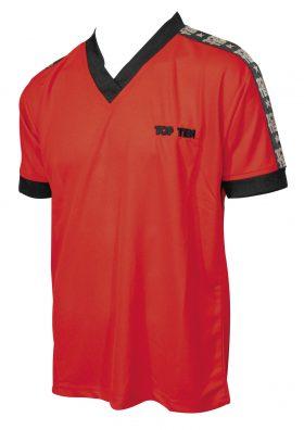 """T-Shirt  V-Hals """"Winner"""" Rood"""