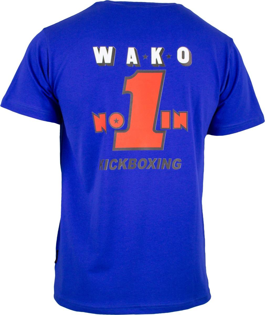 """TOP TEN T-Shirt """"Wako No 1"""" Blauw"""