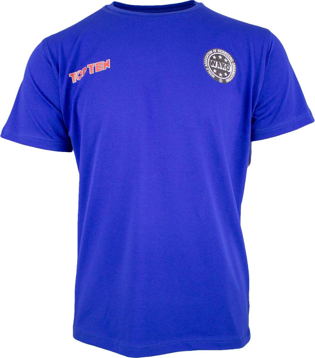"""T-Shirt """"Wako No 1"""" Blauw"""