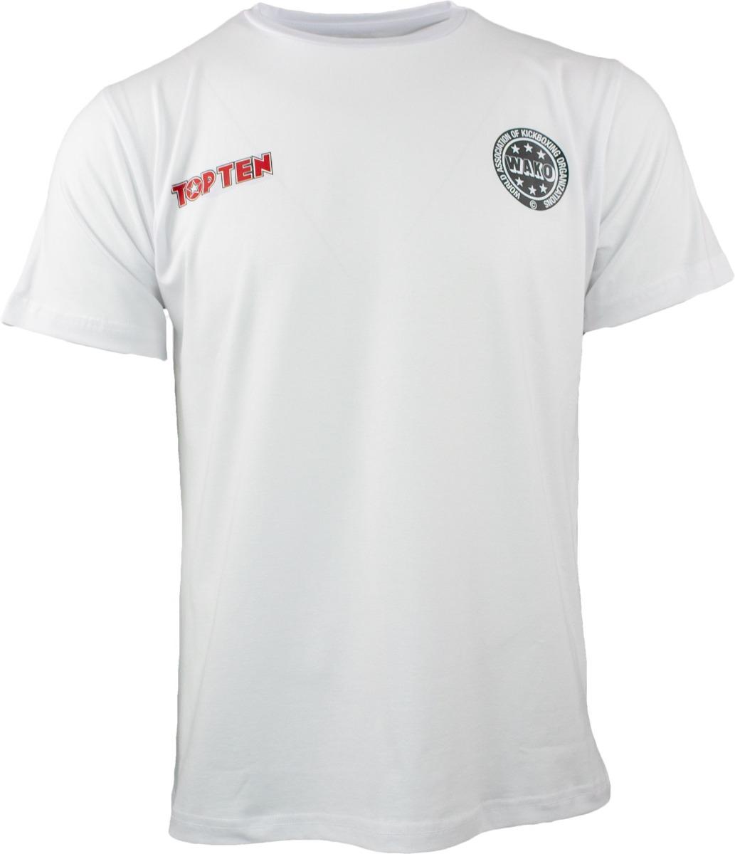"""TOP TEN T-Shirt """"Wako No 1"""" Wit"""