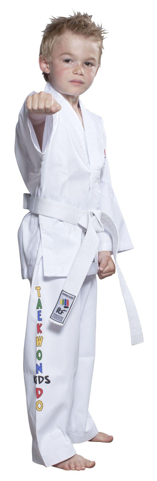 """Taekwondopak """"ITF KIDS"""" Wit"""