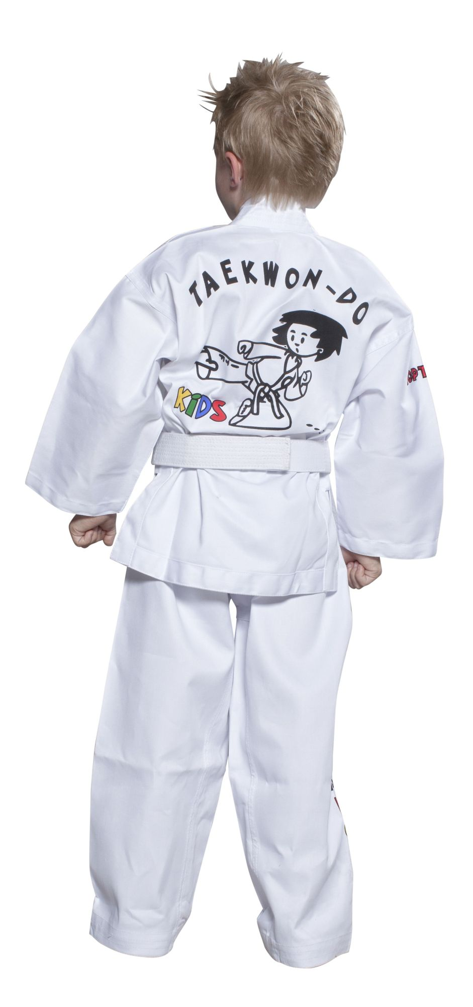 "TOP TEN Taekwondopak ""ITF KIDS"" Wit"