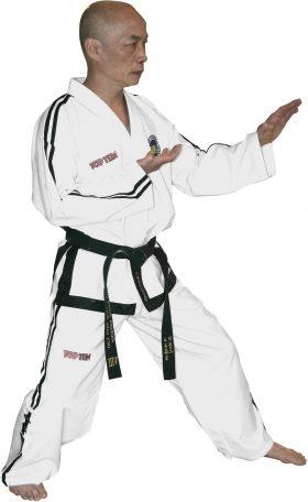 "Taekwondo Grandmaster Dobok ""Diamond"" (7th Wit"