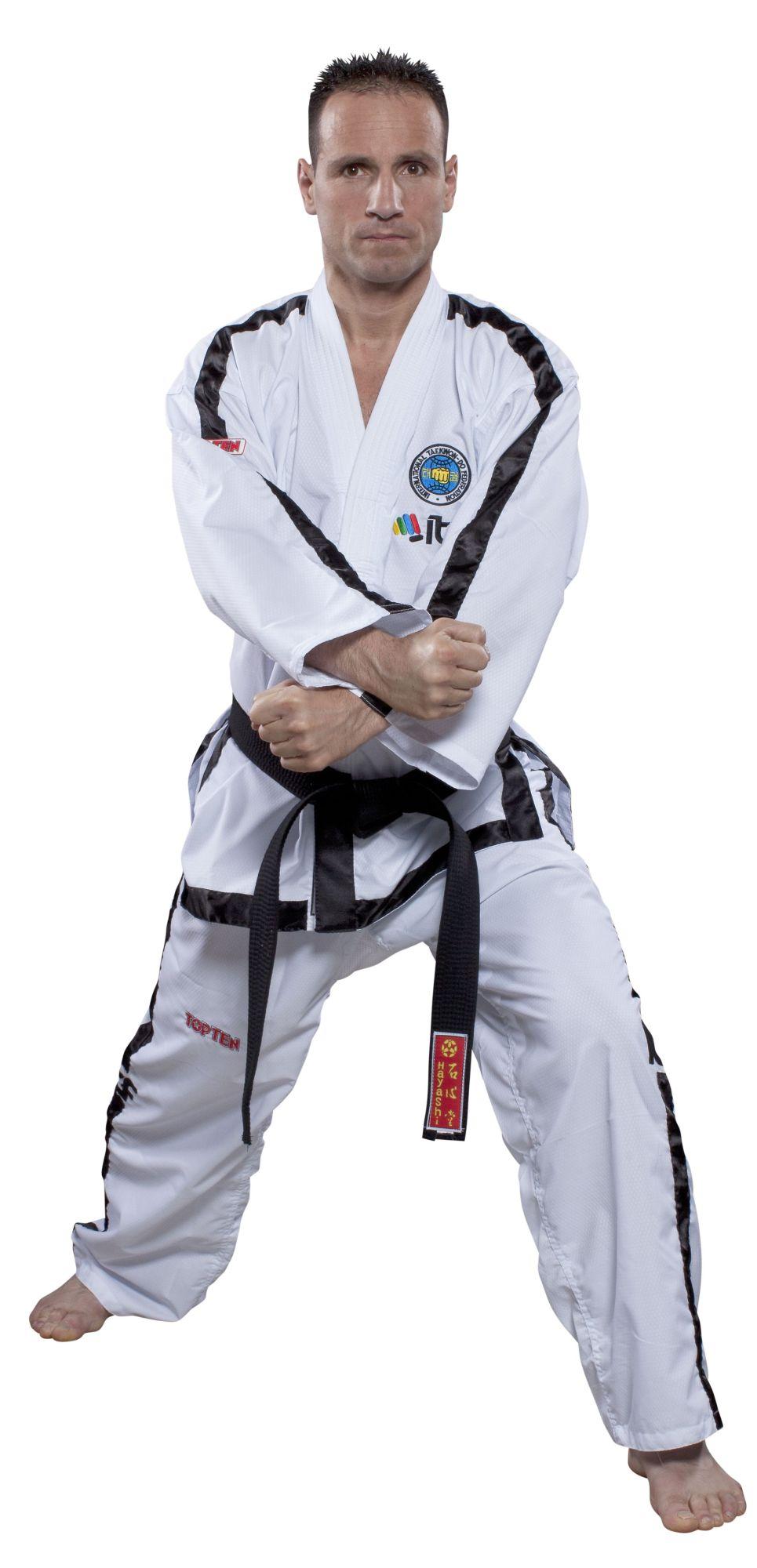 "Taekwondo Instructor Dobok ""Diamond"" (4th Wit"