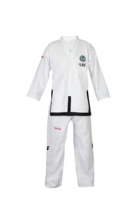 "Taekwondo Master Dobok ""Diamond"" (ITF approved) Wit"