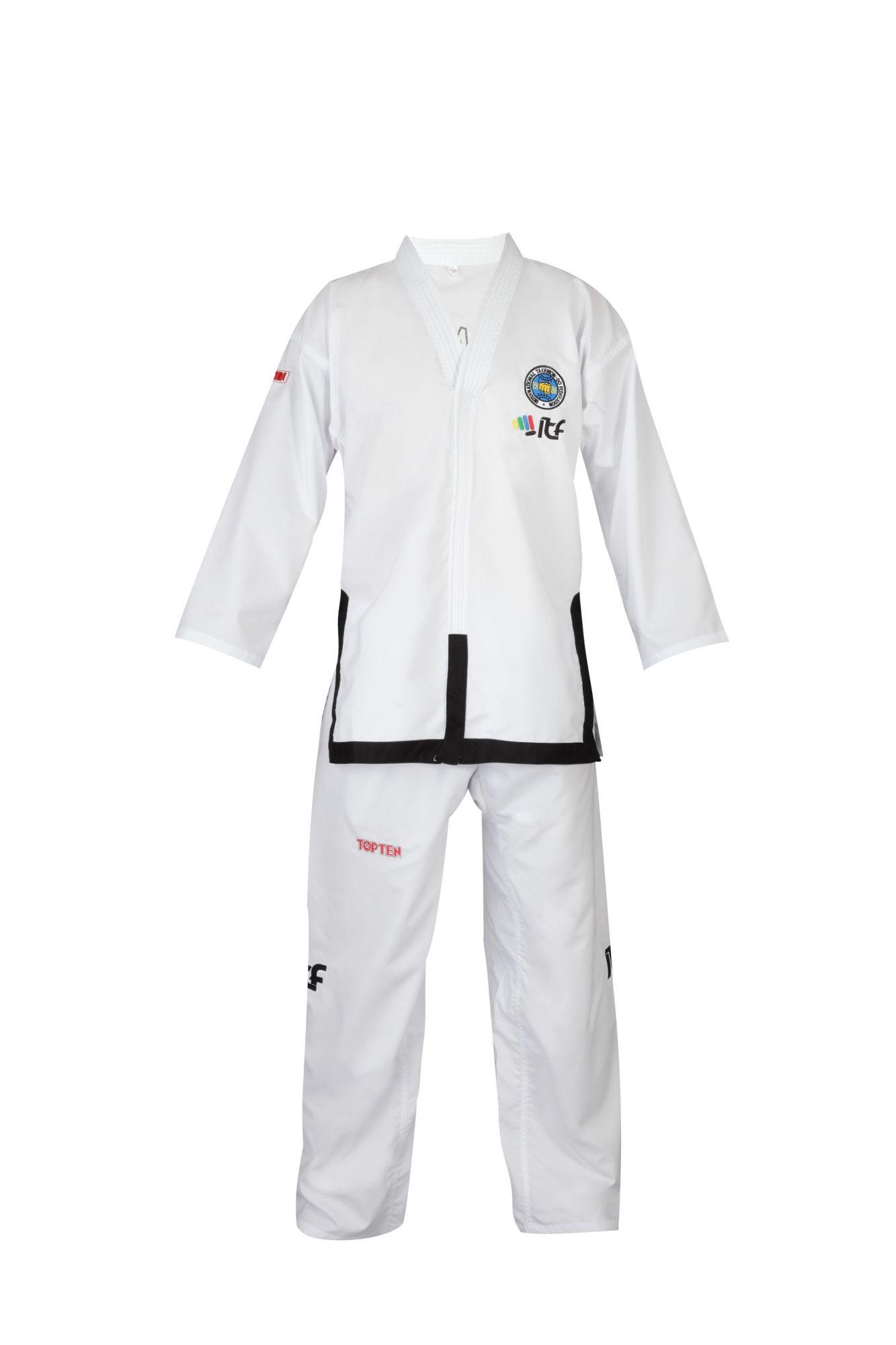 "Taekwondo Master Dobok ""Diamond"" (ITF approved) Wit"
