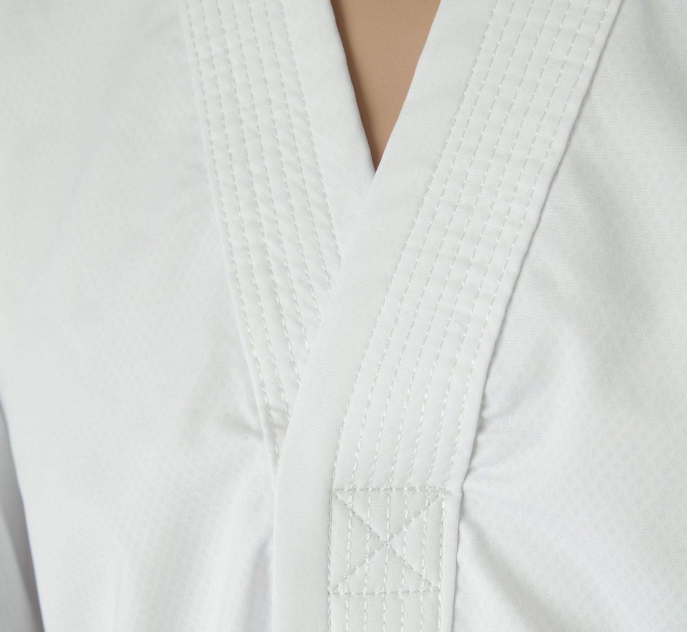 """TOP TEN Taekwondo Instructor Dobok """"Premium gold"""" (4th Wit)"""