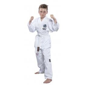 """TOP TEN Taekwondopak """"De-Luxe"""" (ITF approved) Wit"""