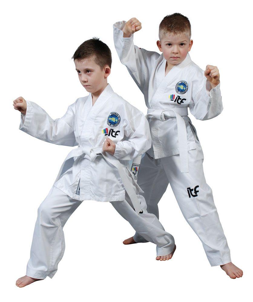 """Taekwondopak """"Kyong"""" (ITF approved) Wit"""