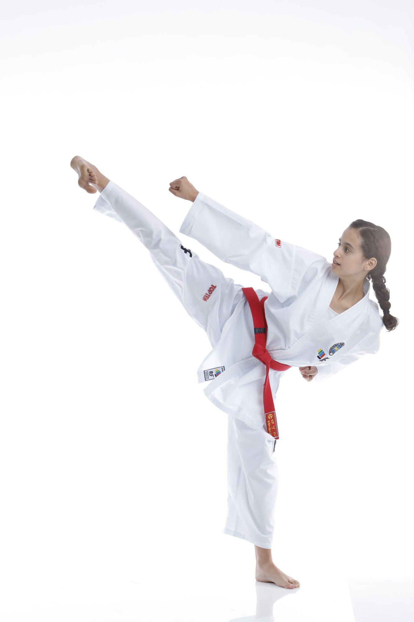 "Taekwondo Student Dobok ""Diamond"" (ITF approved) Wit"