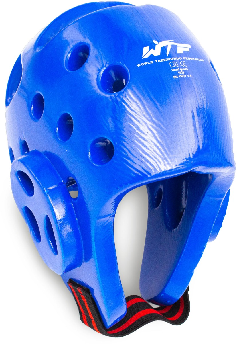 Wacoku Taekwondo Hoofdbeschermer (WTF approved) Blauw