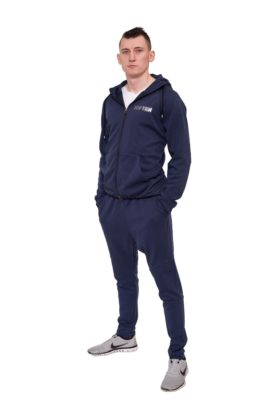 """Trainingspak met hoodie """"Casual"""" Donker blauw"""