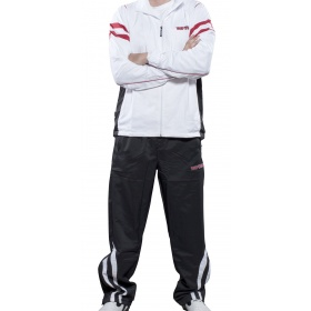 """TOP TEN Trainingspak """"Fight Elite"""" SlimFit voor dames Wit - Zwart"""