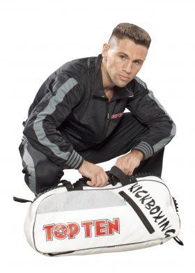 TOP TEN Trainingspak Zwart - Grijs