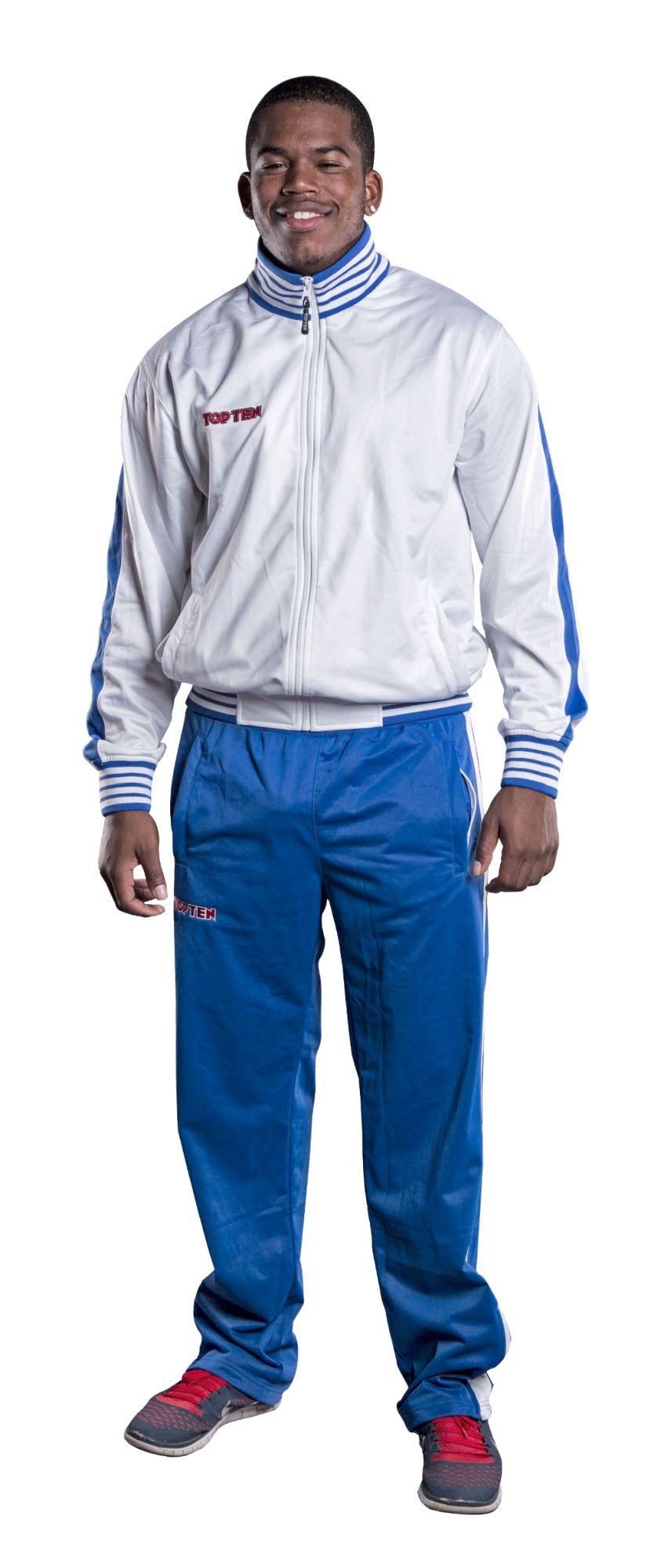 Trainingspak voor kinderen Blauw - Wit